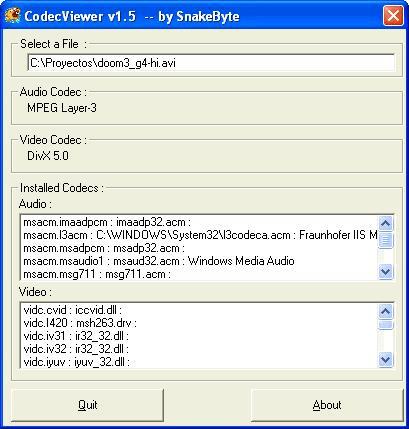 CodecViewer