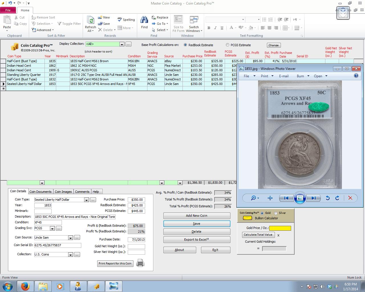Coin Catalog Pro