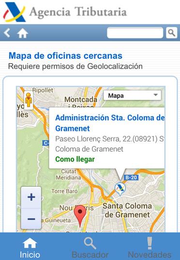 Agencia tributaria para iphone descargar for Oficinas de agencia tributaria madrid