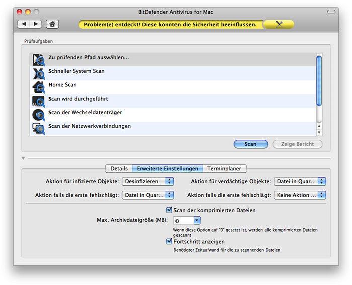 BitDefender Antivirus 2012 für Mac