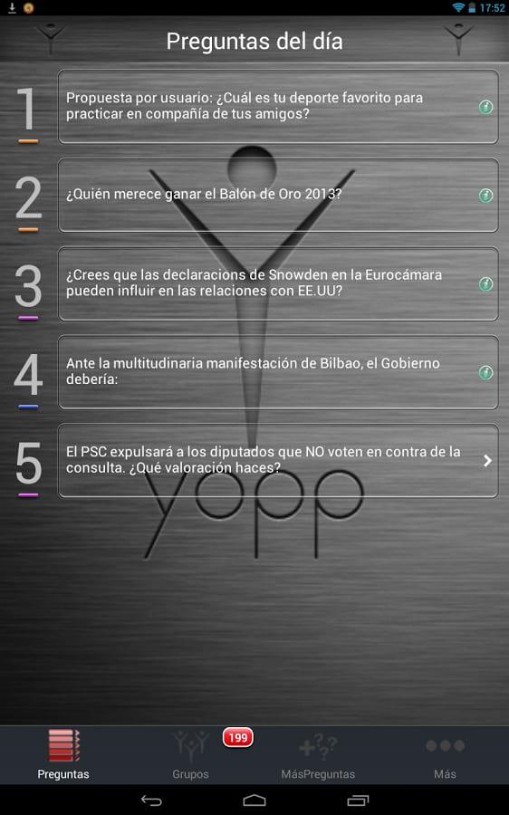 Yopp, Your Opinion Platform