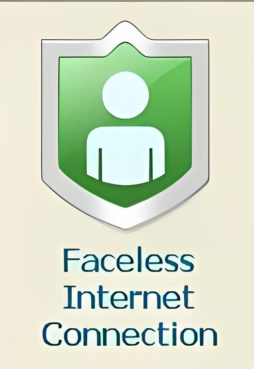 Faceless Faceless Internet Connection
