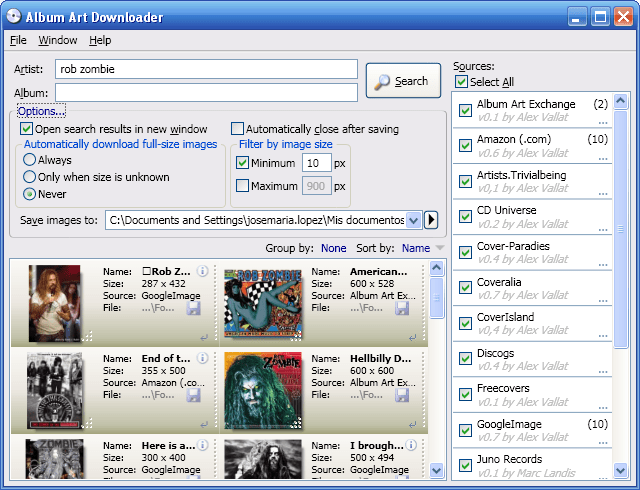Album Art Downloader