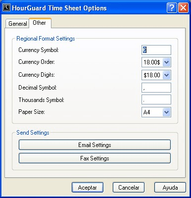 HourGuard Time Sheet Software