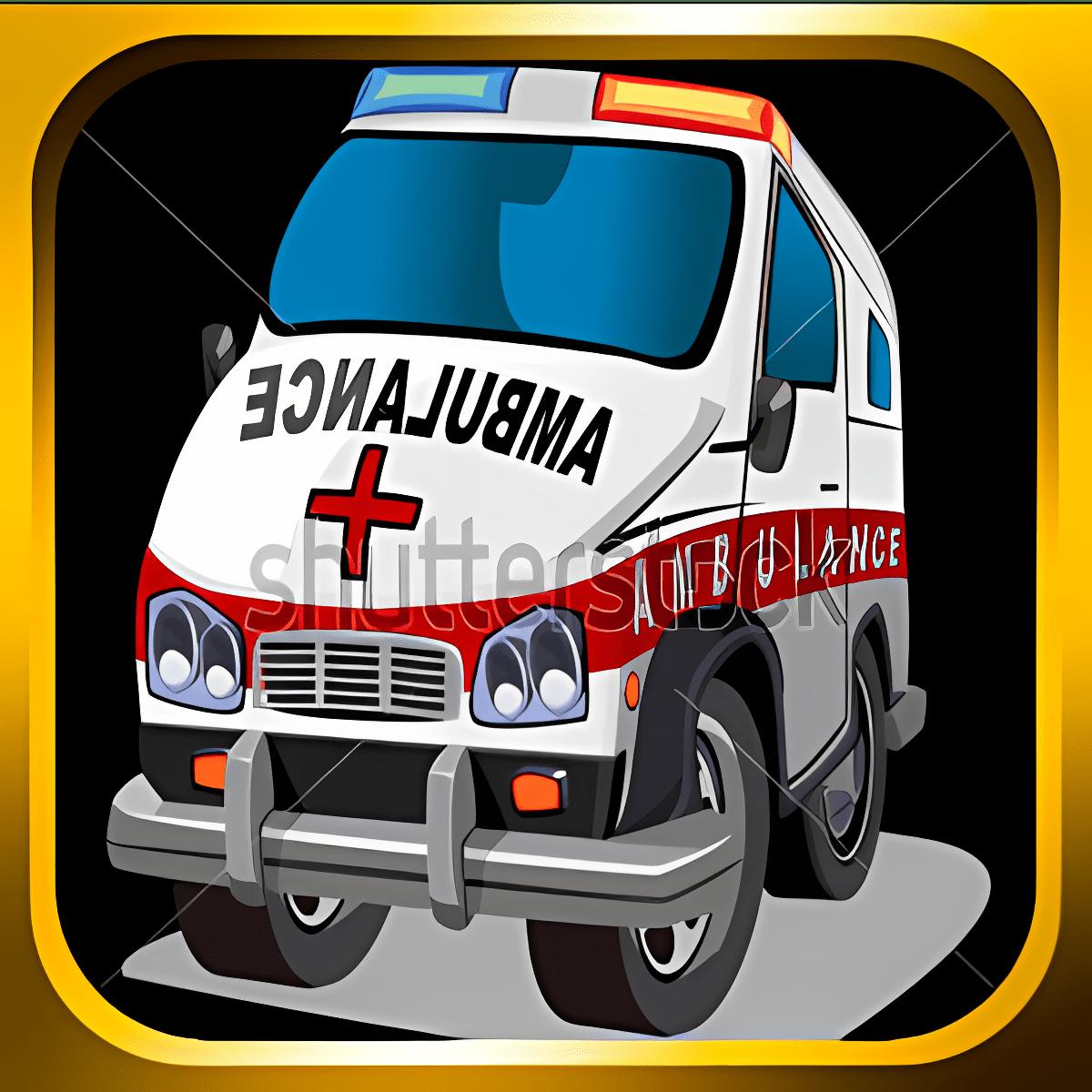 Súper Rescate de la ambulancia