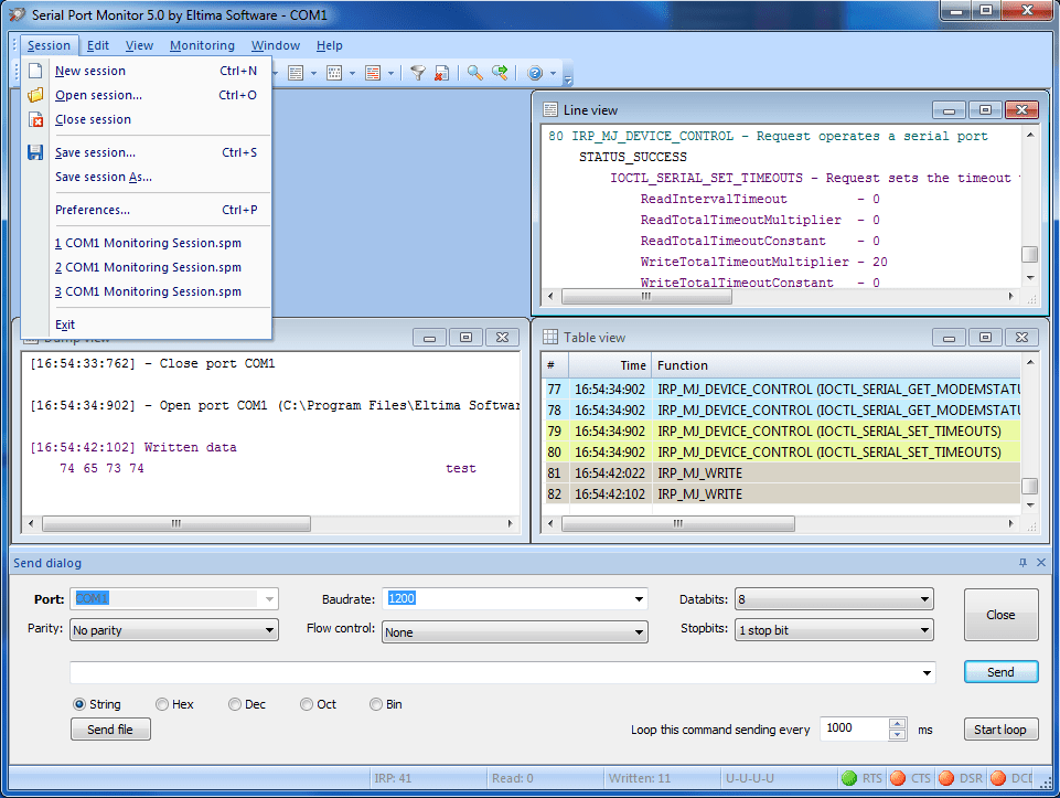 Serial Port Monitor