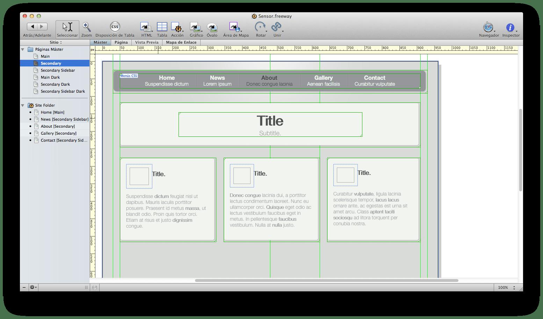 Freeway Pro para Mac - Descargar