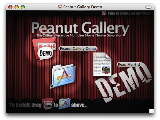 Peanut Gallery: The Demo