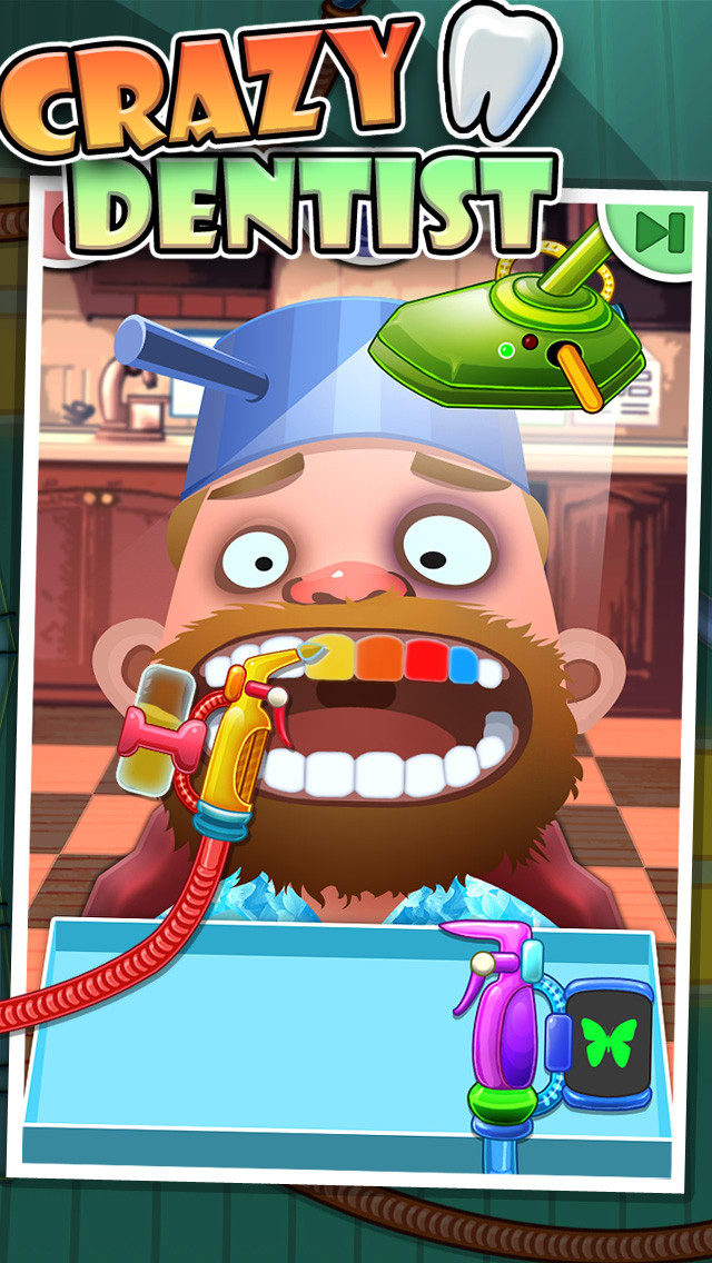 Crazy Dentist - Fun games