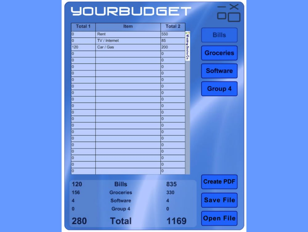 YourBudget Trial