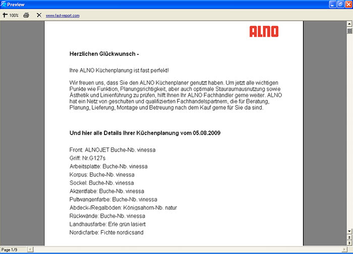 Küchenplaner software  ALNO Küchenplaner - Download