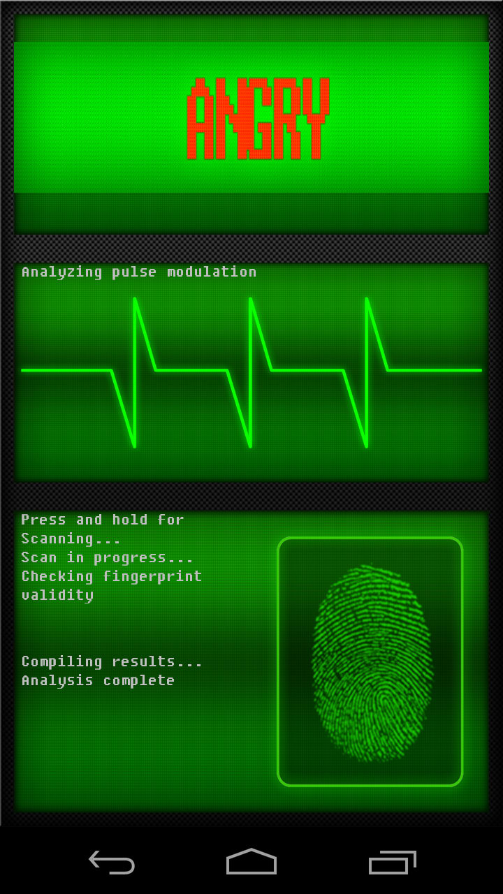 Real Fingerprint Scanner