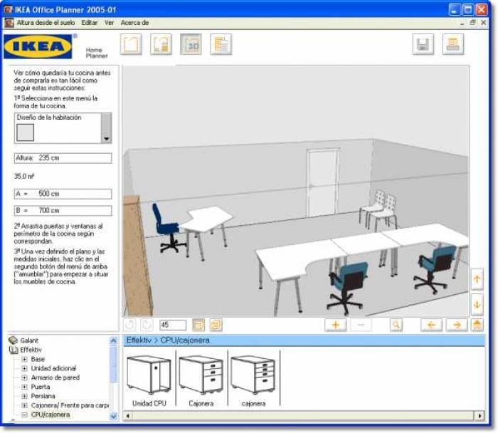 Ikea home planner office descargar for Office planner online