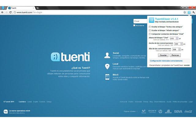 TuentiClean