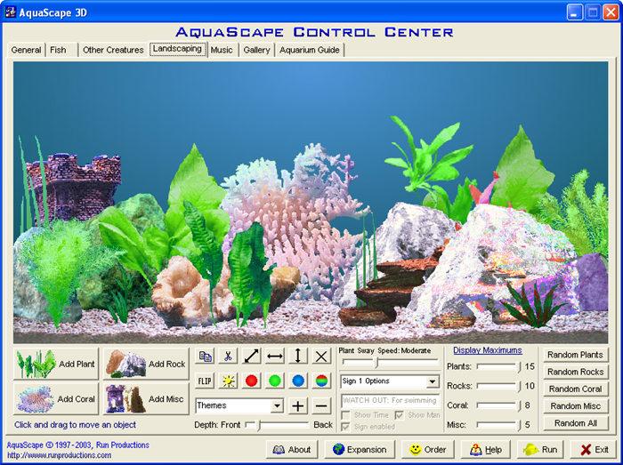 AquaScape 3D