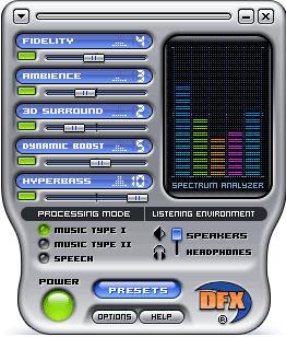 DFX (Winamp)