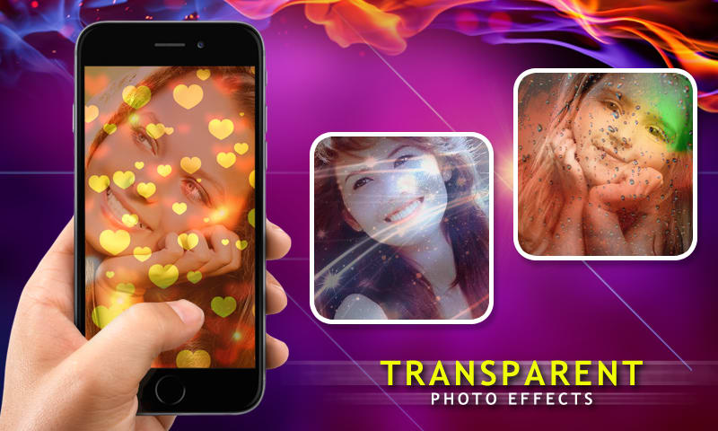 Transparent Photo Effects