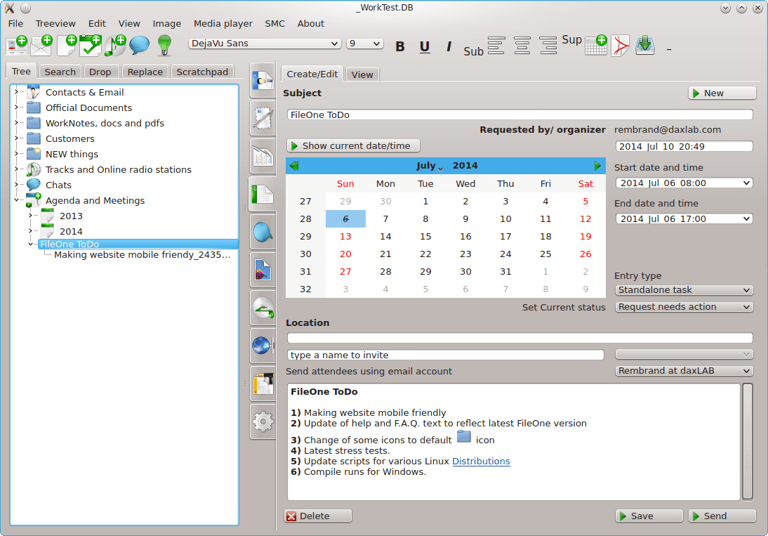 FileOne for Windows and Linux
