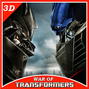 Real Robot Transformers War 3D