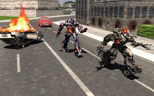 Real Robot Transformers War 3D