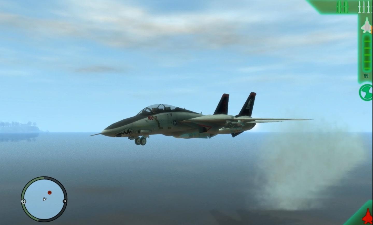 GTA IV Air Combat IV Mod