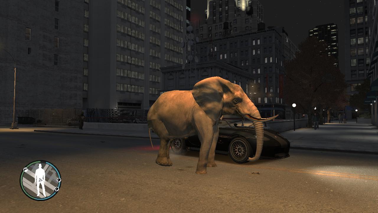 GTA IV Elephant Mod