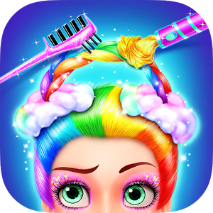 Rainbow Hair Salon - Dress Up 1.0