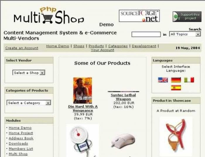 Php-MultiShop
