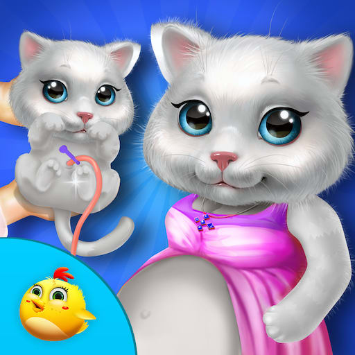 Kitty Take Care New Born Baby