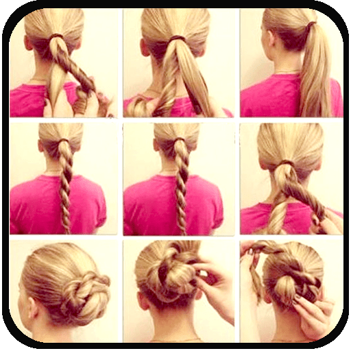 Hair Styles Step By Step 1.0