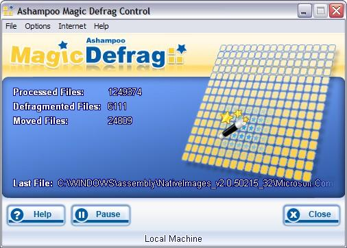 Ashampoo Magical Defrag Software