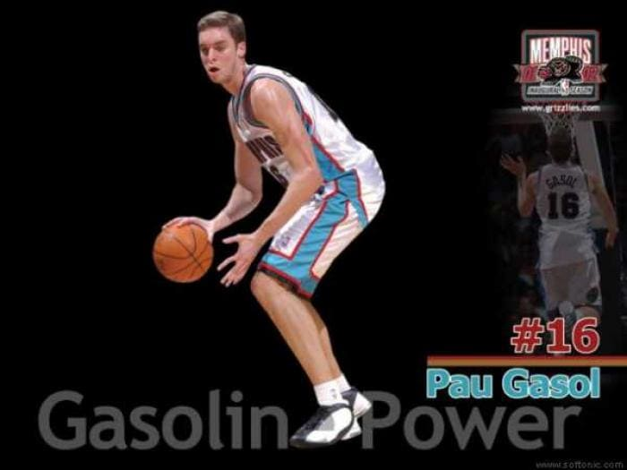 Pau Gasol - Gasoline Powered Wallpaper
