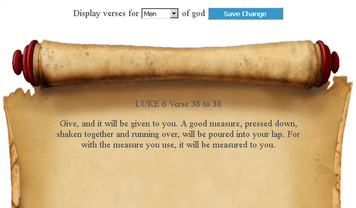 Bible Verse Reminder