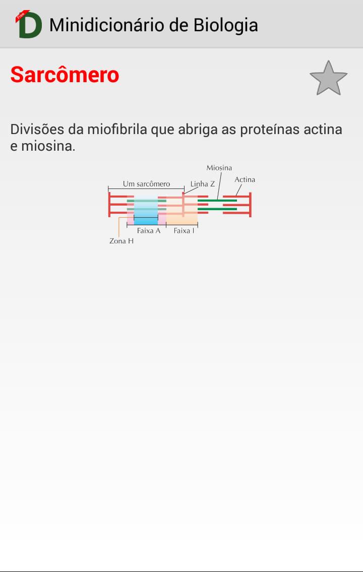 Dicionário de Biologia
