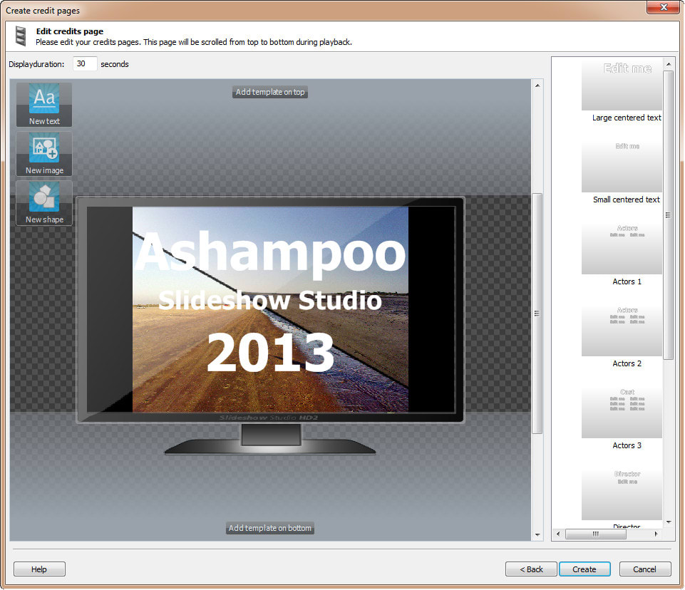 Ashampoo Slideshow Studio 2013