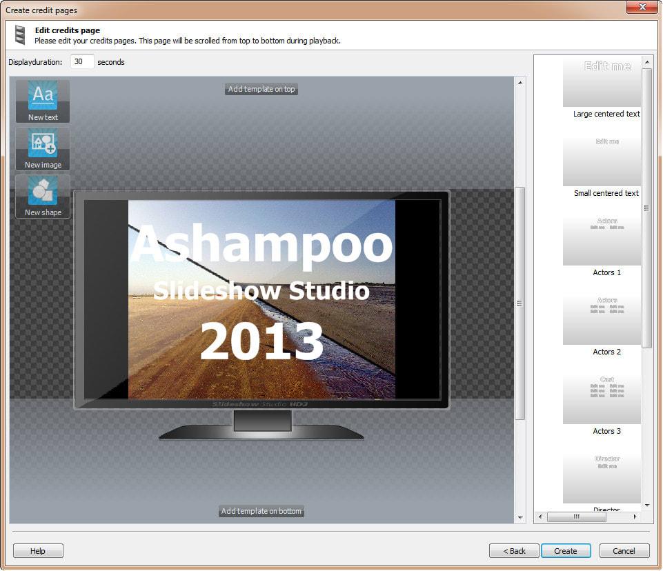 Ashampoo Slideshow Studio 2013