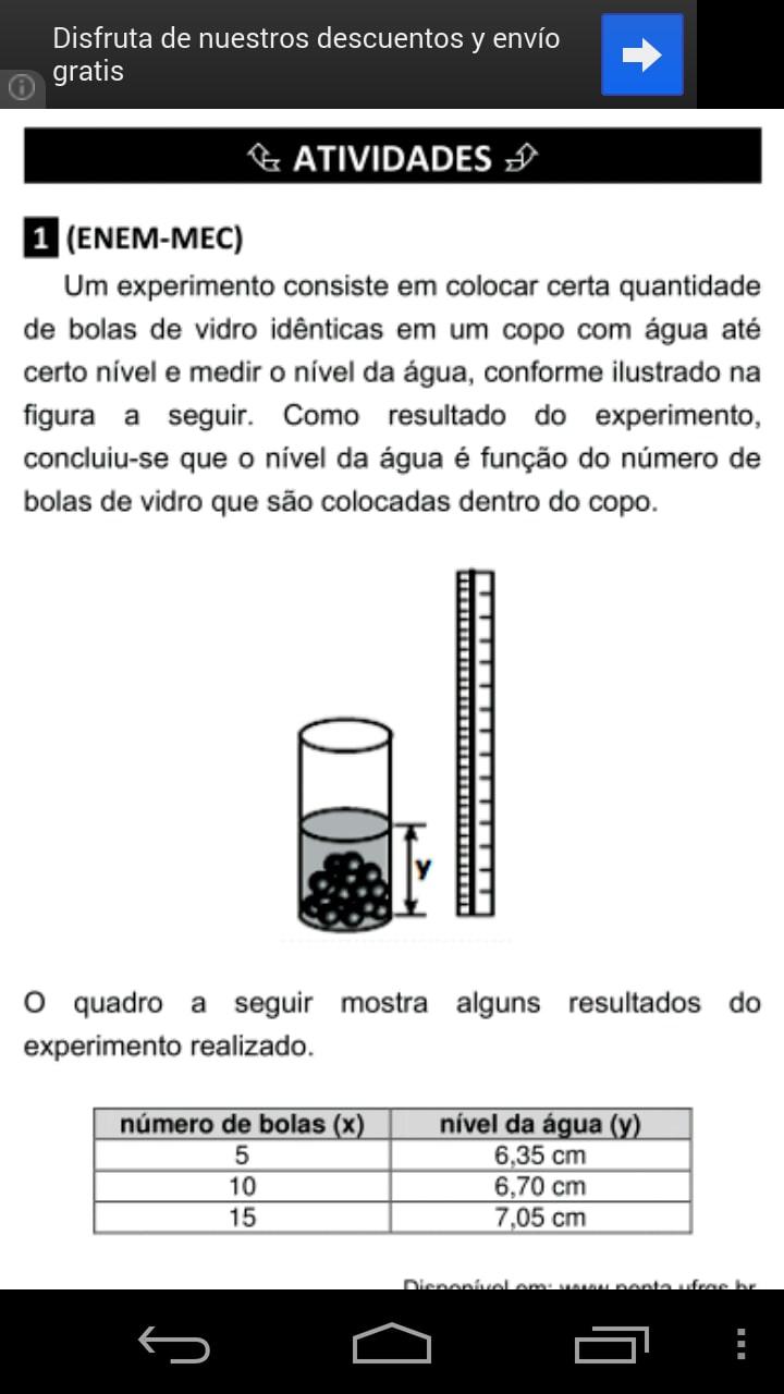 ENEM Apostila de Matemática 1