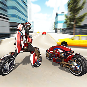 Motorcycle Robot Simulator 3D 1