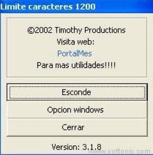 Limite Caracteres 1200