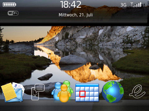 Vista Lake Bold 9700 Theme
