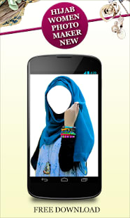 Hijab Women Photo Maker New