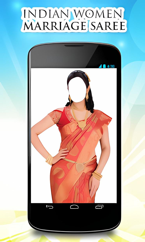 Indian Women Marriage Saree