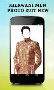 Sherwani Men Photo Suit New