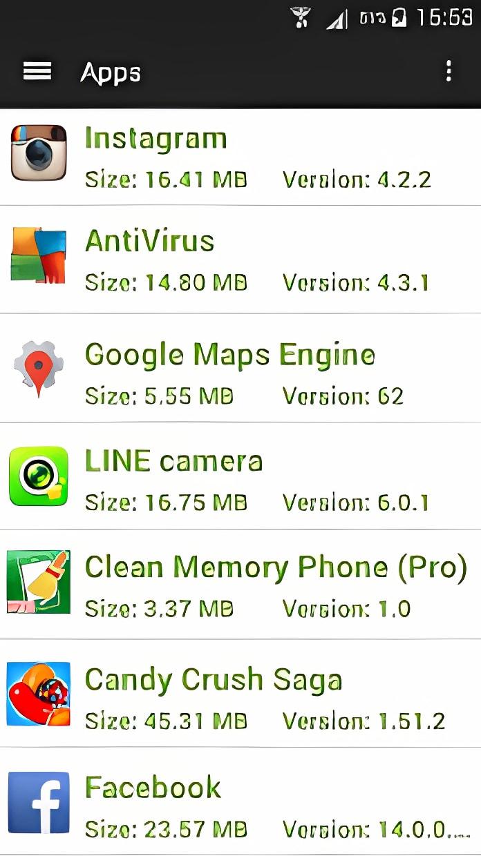 Clean Memory Phone (Pro) 2016