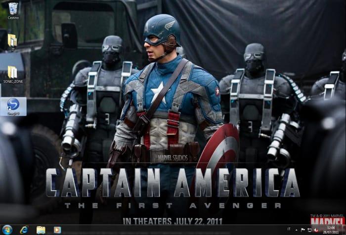 Capitan America: Il primo vendicatore Wallpaper