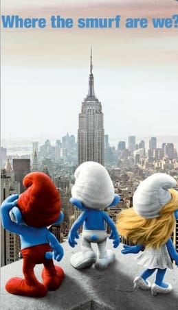 Smurfs Wallpaper (fondo de pantalla) (S60 5th + Symbian^3)
