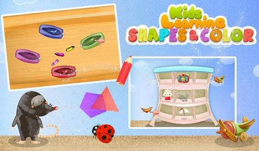 Kids Learning Shapes & Color