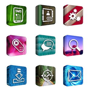 Tema 3D Icons