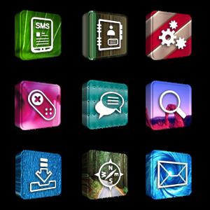 Tema 3D Icons