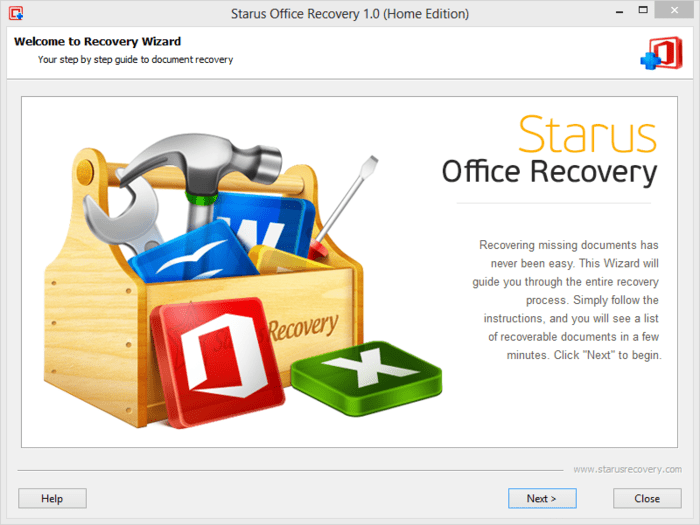 Starus Office Recovery